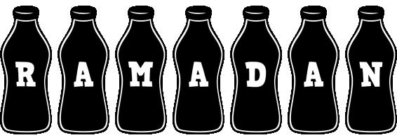 Ramadan bottle logo