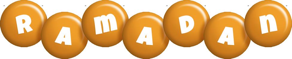 Ramadan candy-orange logo