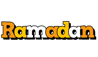 Ramadan cartoon logo