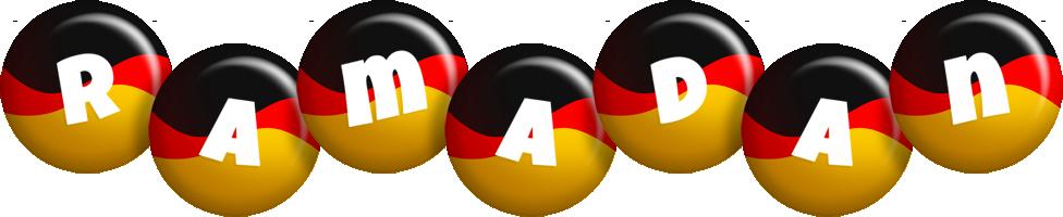 Ramadan german logo