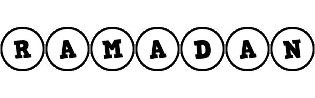 Ramadan handy logo