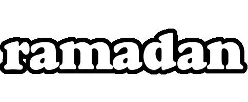 Ramadan panda logo