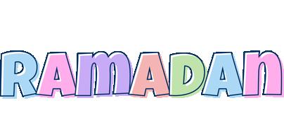 Ramadan pastel logo
