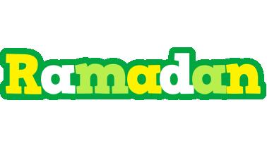 Ramadan soccer logo