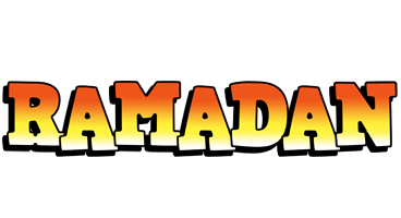 Ramadan sunset logo