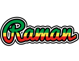 Raman african logo