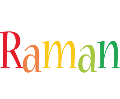 Raman birthday logo