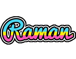 Raman circus logo