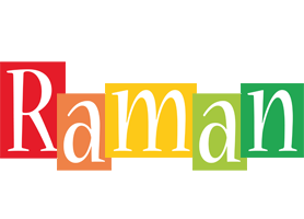 Raman colors logo