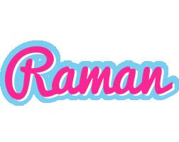 Raman popstar logo