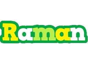 Raman soccer logo