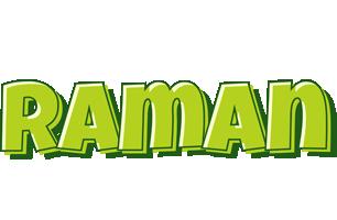 Raman summer logo