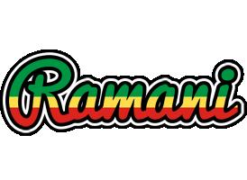 Ramani african logo