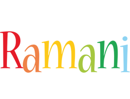 Ramani birthday logo