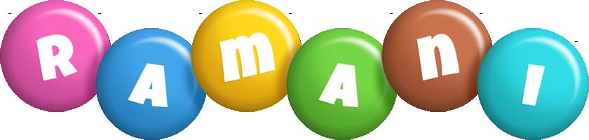 Ramani candy logo