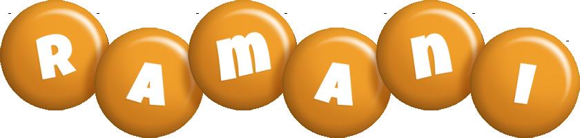 Ramani candy-orange logo