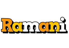 Ramani cartoon logo