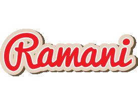 Ramani chocolate logo