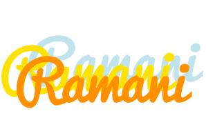 Ramani energy logo