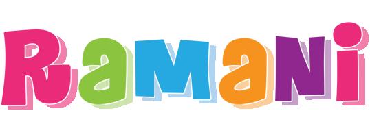 Ramani friday logo