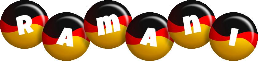 Ramani german logo