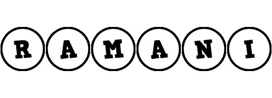 Ramani handy logo