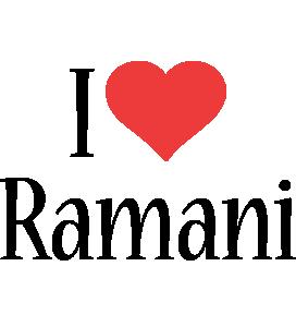 Ramani i-love logo