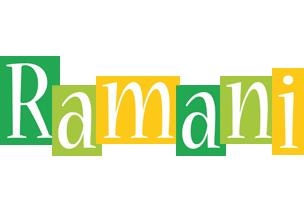Ramani lemonade logo