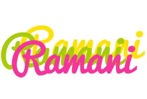 Ramani sweets logo