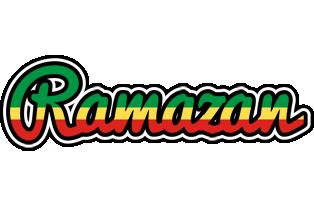 Ramazan african logo