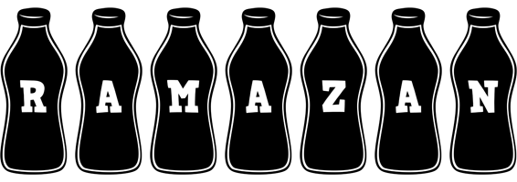 Ramazan bottle logo