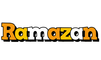 Ramazan cartoon logo
