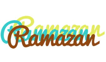Ramazan cupcake logo