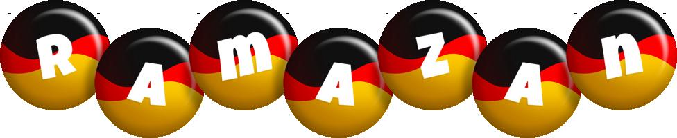Ramazan german logo