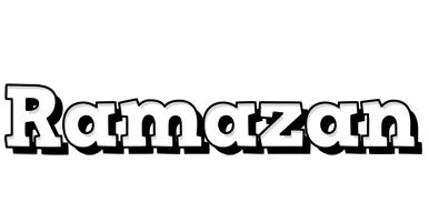 Ramazan snowing logo
