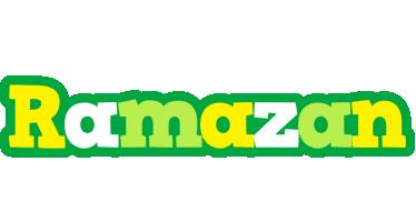 Ramazan soccer logo