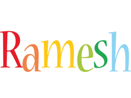 Ramesh birthday logo
