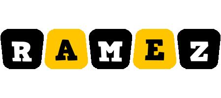 Ramez boots logo
