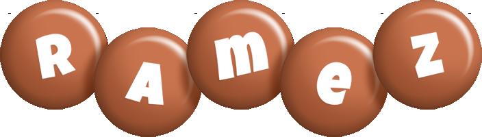 Ramez candy-brown logo