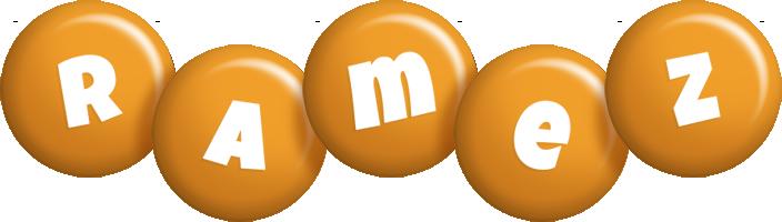 Ramez candy-orange logo
