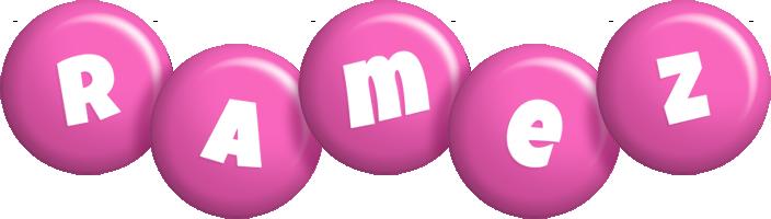 Ramez candy-pink logo
