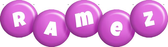 Ramez candy-purple logo