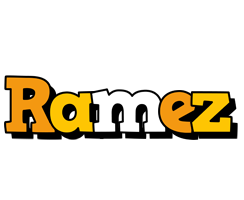 Ramez cartoon logo