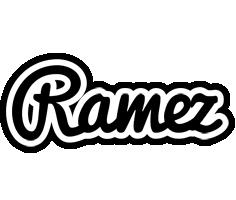 Ramez chess logo