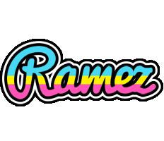 Ramez circus logo