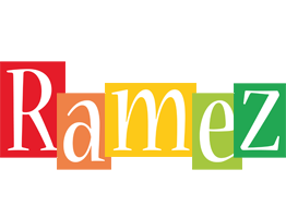 Ramez colors logo