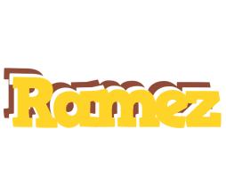 Ramez hotcup logo