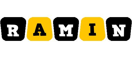 Ramin boots logo