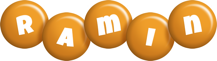 Ramin candy-orange logo