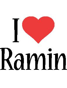 Ramin i-love logo
